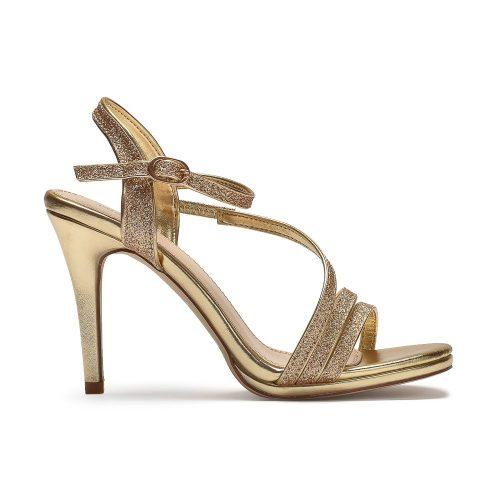 damskie sandałki złote Migato