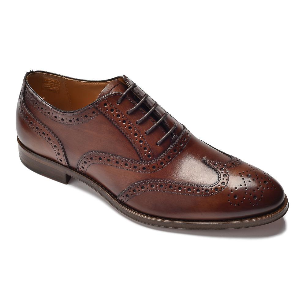 eleganckie skórzane męskie buty