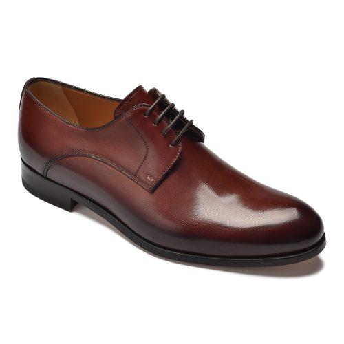 66bdd5a402f02 Eleganckie brązowe buty męskie typu monk Othello - Van Thorn