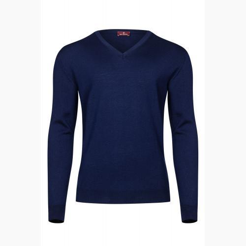 Sweter męski z wełny merino